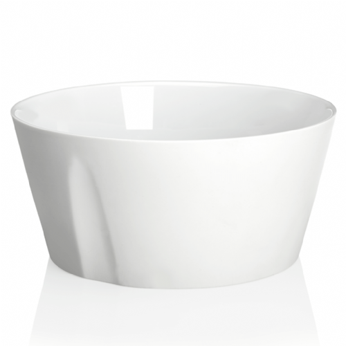 Degrenne Paris 'L'Econome by Starck' White Turnip Straight Bowl 18cm